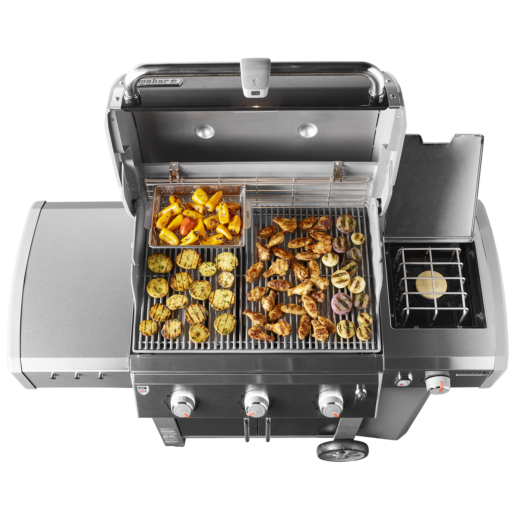 Barbacoa de gas Genesis® II LX E-340 GBS