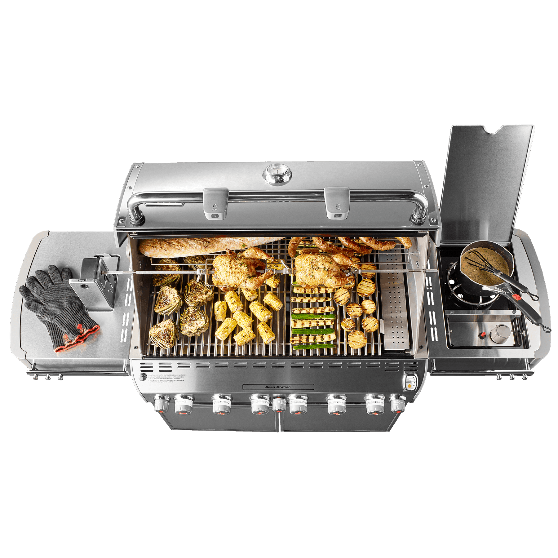 Summit® S-670 GBS Gasolgrill